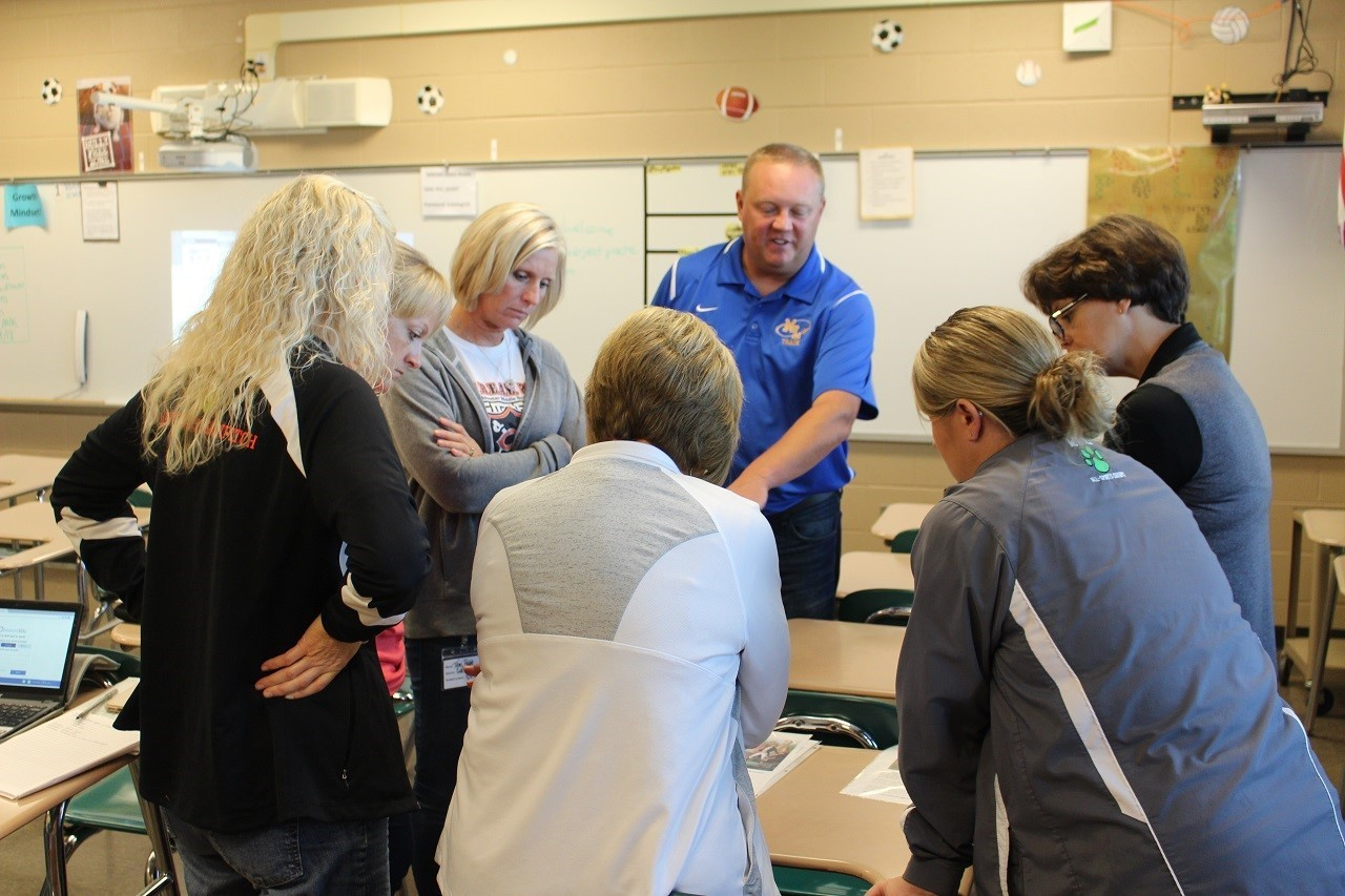 Teachers learning and problem solving together