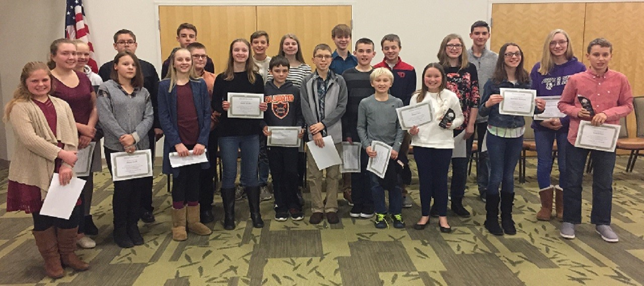 2019 Spelling Bee Participants