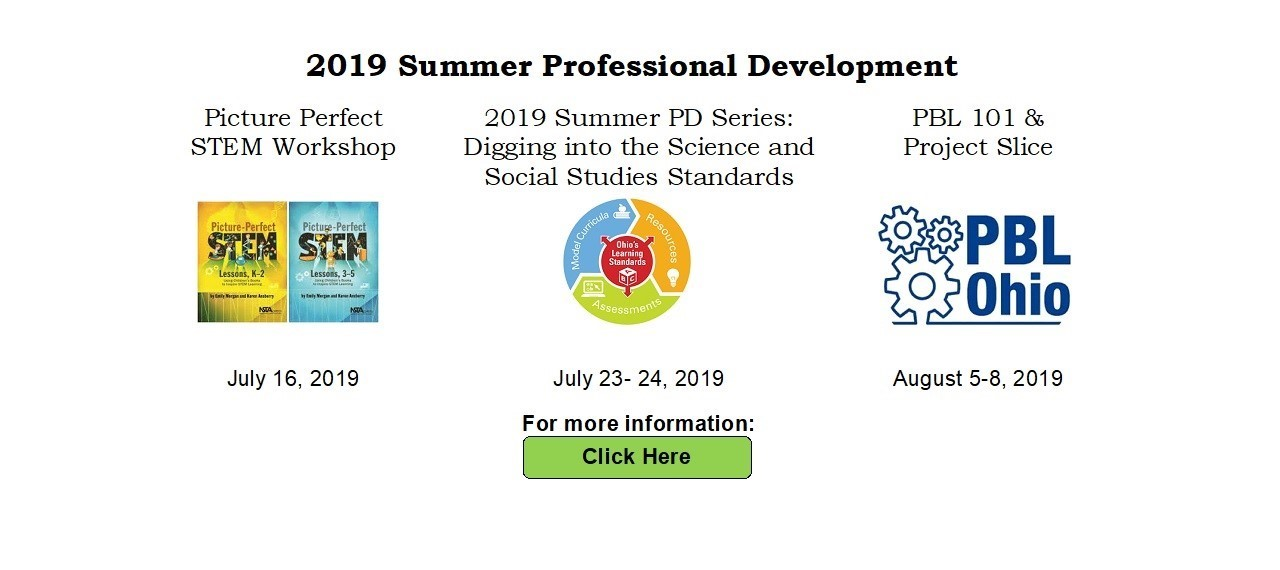 2019 Summer Professional Development