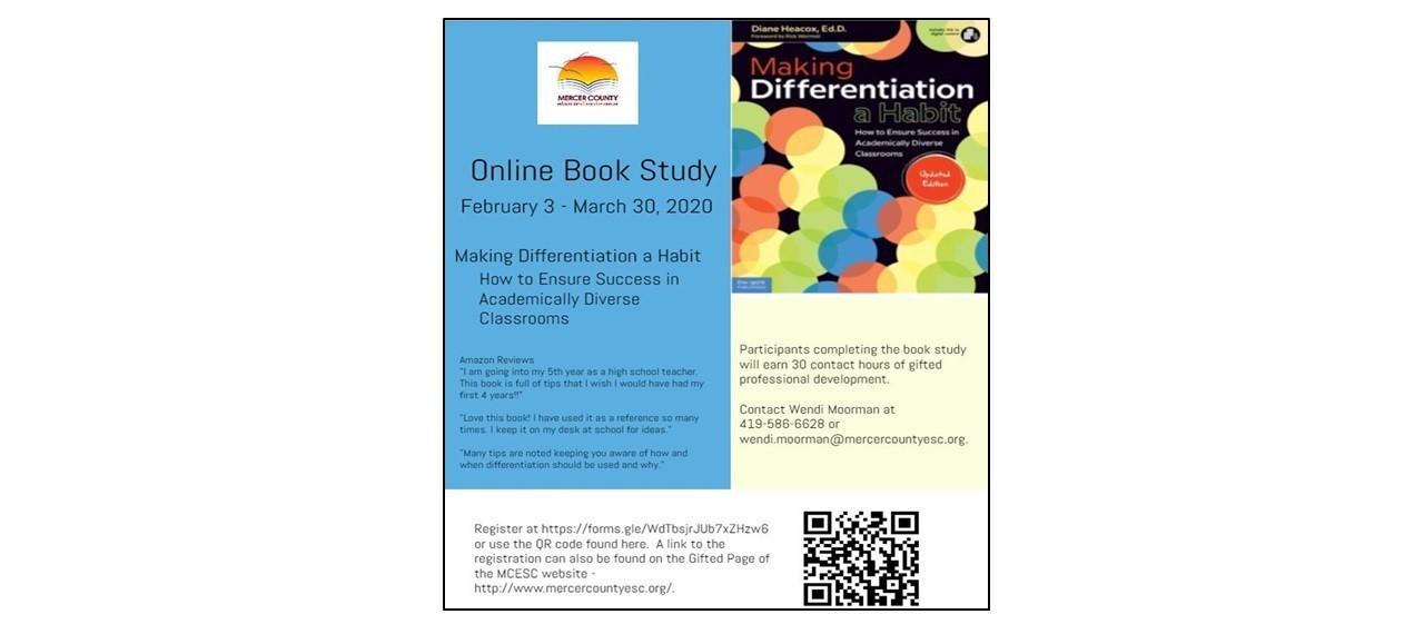Online Book Study Professional Development Opportunity