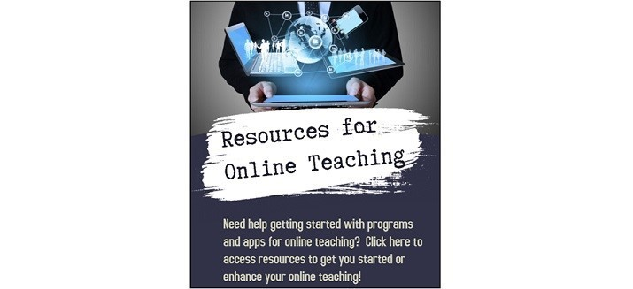 Resources for Online Teaching